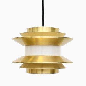 Schwedische Deckenlampe von Carl Thore / Sigurd Lindkvist, 1960er