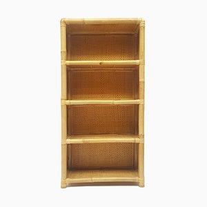 Spanisches Bücherregal aus Bambus, spätes 20. Jh., 1970er