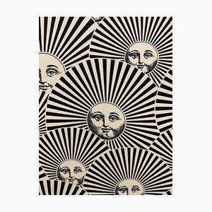 Mid-Century Framed Silk Panel by Atelier Fornasetti