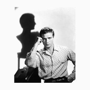 Marlon Brando Julius Caesar Shoot Archival Pigment Print Framed in White by Everett Collection