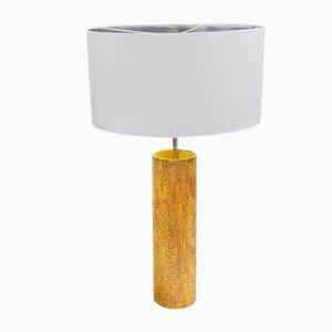 Lámpara de mesa Mid-Century de cerámica, años 70