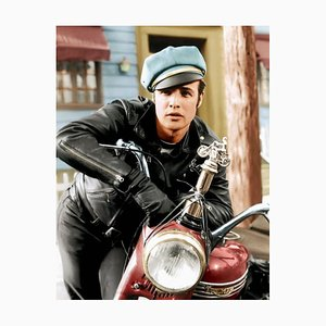 The Wild One Archival Pigment Print Framed in Black by Everett Collection