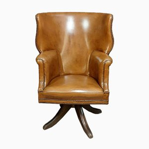 Chesterfield Office Chair, 1940s