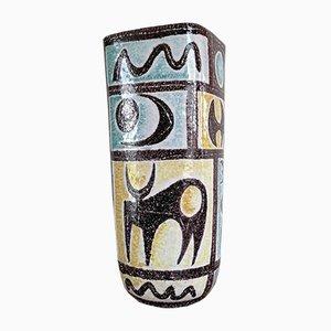 Keramikvase von Alvino Bagni, 1960er