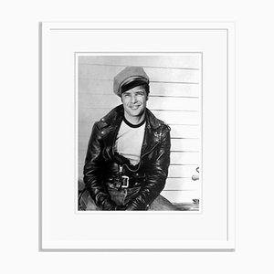 The Wild One Brando Archival Pigment Print Framed in White by Everett Collection