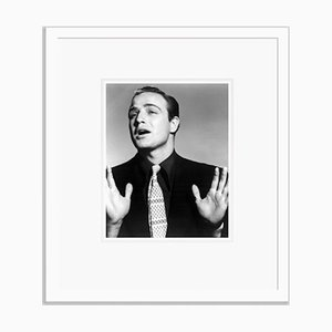 Marlon Brando in Guys on Dolls Archival Pigment Print Framed in White by Everett Collection