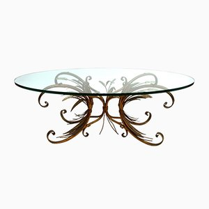 Coco Chanel French Coffee Table by Maison Bagues, 1950s