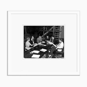 Julius Caesar Cast Rehearsals Archival Pigment Print Framed in White by Everett Collection