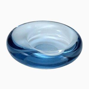 Glass Shell Bowl Element by Per Lutken for Holmegaard, Denmark, 1960s