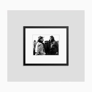 Brando on Location Filming on the Waterfront Archival Pigment Print Framed in Black by Everett Collection