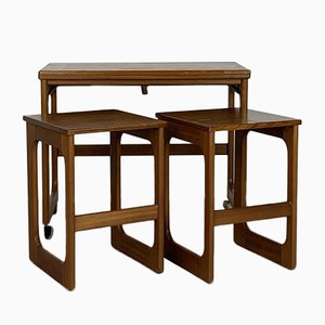Tables Gigognes Vintage Triform de McIntosh, Set de 3