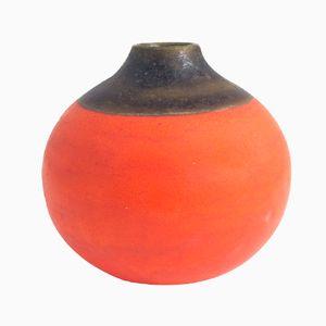 Small Two-Tone Ceramic Vase from Gambone