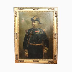 French School Painting, Portrait of General Henri Narcisse Gossart