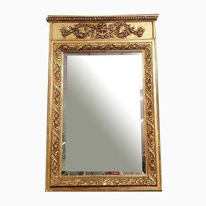 Empire Spiegel mit vergoldetem Rahmen