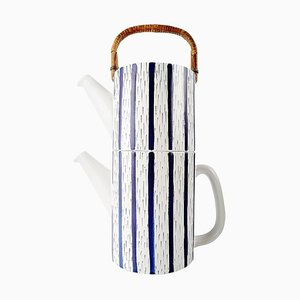 2-Piece Tea Pot by Stig Lindberg for Gustavsberg