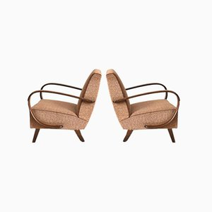Model 410 Armchairs by Jindrich Halabala, 1930s, Set of 2