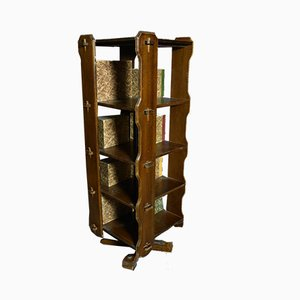 Vintage Rotating Bookcase