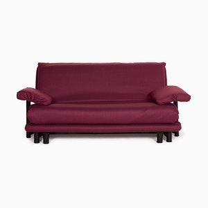 Wine Red Fabric Multy 3-Seat Sofa from Ligne Roset