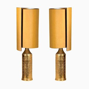 Table Lamps by Bitossi for Bergboms, 1960s, Set of 2