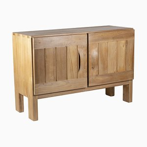 Buffet in Natural Elm from Maison Regain, 1950s
