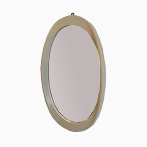 Oval Wall Mirror, 1970s