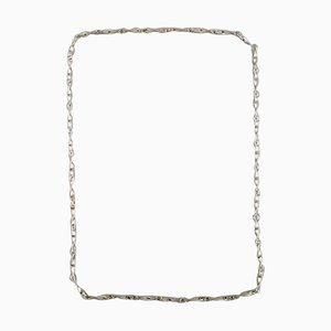 Modernist Necklace in Sterling Silver from Georg Jensen