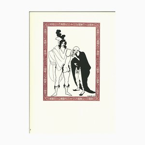 Lithographie The Examination of the Herald par Aubrey Beardsley - 1970s 1970s