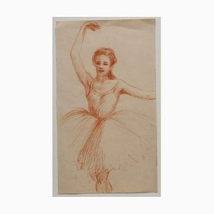 Tänzerin - Original Bleistiftzeichnung auf Papier - ca. 1930 Ca. 1930