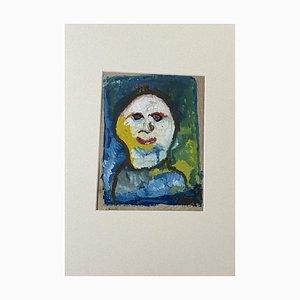 Clown - Original Gemischt von Antonio Vangelli - 1955 1955