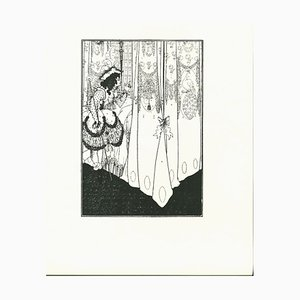 The Dream - Original Lithograph by A. V. Beardsley - 1970 1970