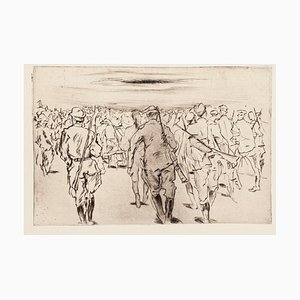 Front Italien - Original Etching on Paper - 1918 1918