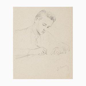 Portrait - Original Pencil Drawing - 1949 1949
