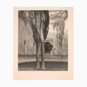 Minotauros - Vintage Héliogravure by Franz von Bayros - Early 20th Century Early 20th Century