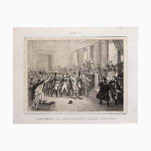 Return of Napoleon From Egypt - Original Lithograph after Laffite - 1846 1846