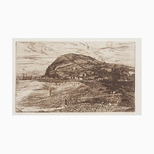 Landscape - Original Etching - 1879 1879
