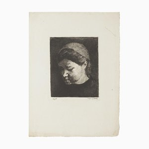 Portrait - Original Etching - 1937 1937