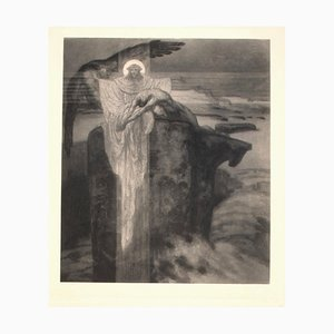 Prometheus - Héliogravure by Franz von Bayros - Early 20th Century Early 20th Century