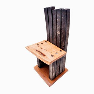 Brutalist Prototype Concept Chair by Tom Emerson for Bauhaus Dessau