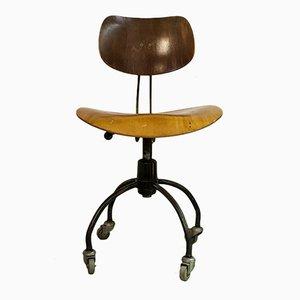 Chaise de Bureau par Egon Eiermann pour Wilde Spieth