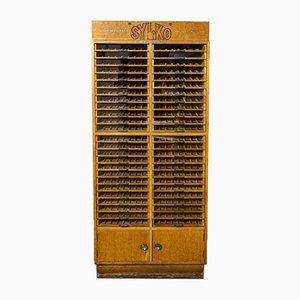 Silo Kurzwarenaufbewahrung Regal von Sylvia Baron für Abel Morrall Ltd, 1950er