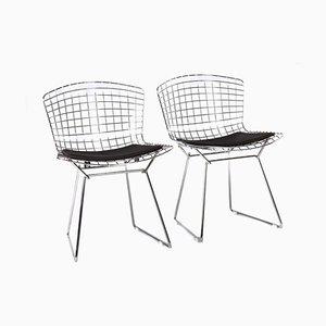 Modell 420 Chrom Stühle von Harry Bertoia für Knoll Inc. / Knoll International, 1990er, 2er Set
