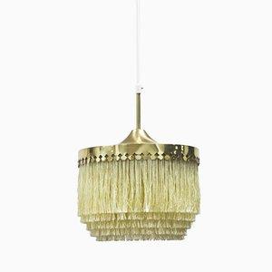 Lampe à Suspension à Franges par Hans-Agne Jakobsson pour Markaryd