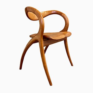 Side Chair by A. Sibau, 1980s