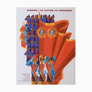 Gleichheit mit der Partei, dem Komosomol | Russland | 1980