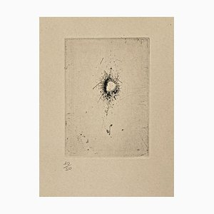 Gravure à l'eau-forte par WOLS (Alfred Otto Wolfgang Schulze), 1962