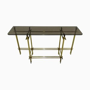 Console Table In the Style of Giovanni Banci, Willy Rizzo & Romeo Rega, 1970s