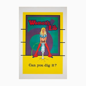 Can You Did It, American Political/Protest Poster, 1970s