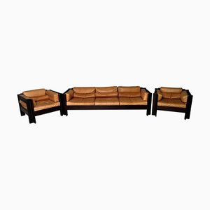 Living Room Set by Sergio Asti for Poltronova, 1962, Set of 3