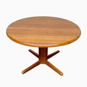 Tavolo da pranzo Mid-Century allungabile in teak di Bramin, anni '60