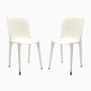 Lambda Esszimmerstühle von Marco Zanuso & Richard Sapper für Gavina, 1960er, 2er Set